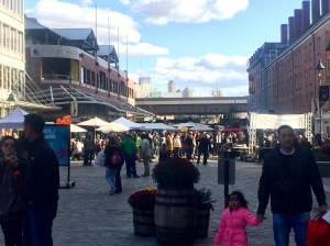 Entrance to South Street Seaport